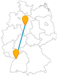 Vergleichen Sie auf Ihrer Reise mit dem Fernbus von Hannover nach Karlsruhe einfach mal die beiden schönen Zoos.