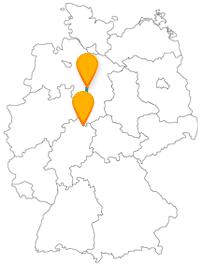 Ob Bergpark, Herrenhäuser Gärten oder ein Schützenfest - mit dem Fernbus zwischen Hannover und Kassel können Sie all das sehen und erleben.