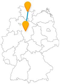 Museum oder Aquarium - mit dem Fernbus von Hannover nach Kiel können Sie beides haben.