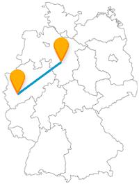 Eine Fahrt mit dem Fernbus von Hannover nach Köln lohnt sich.