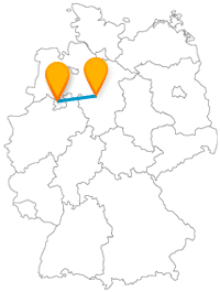 Ob Schützenfest oder Kirchenbesuch, erleben Sie auf Ihrer Reise mit dem Fernbus zwischen Hannover und Osnabrück spannende Kontraste.