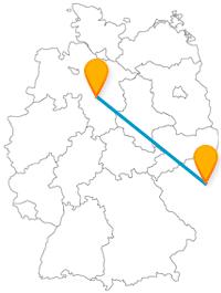 Ob internationale Messe oder kulturell-politisches Hochzentrum, fahren Sie mit dem Fernbus zwischen Hannover und Prag und lassen Sie sich begeistern.