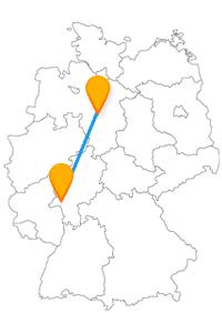 Entspannen Sie sich mit einer Fahrt im Fernbus von Hannover nach Wiesbaden und genießen Sie großes Wellness.