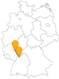 Ob malerisch, historisch oder medial, die Fernbusreise zwischen Heidelberg und Mainz hat ein breifgefächertes Angebot an Sehenswürdigkeiten.