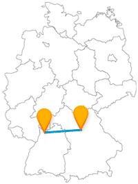 Erleben Sie nach Ihrer Fernbusfahrt zwischen Heidelberg und Nürnberg entweder studentisches Flair oder deutsche Zeitgeschichte.