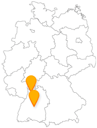 Haben Sie mit dem Fernbus von Heidelberg nach Tübingen eine interessante Busfahrt von Universitätsstadt zu Universitätsstadt.