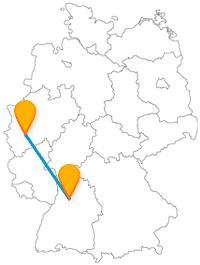Nicht nur zur Karnevalszeit lohnt sich die Reise mit dem Fernbus von Heilbronn nach Köln.