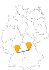 Entdecken Sie mit dem Fernbus Heilbronn Nürnberg zwei schöne und interessante Altstädte.