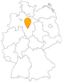 Der Fernbus in Hildesheim