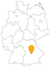 Der Fernbus in Ingolstadt