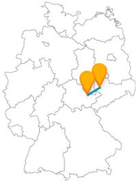 Fahren Sie mit dem Fernbus zwischen Jena und Leipzig und besuchen Sie den ältesten und zweitältesten Botanischen Garten Deutschlands.