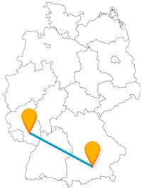 Erfahren Sie mit dem Fernbus zwischen Kaiserslautern und München ein Stück bayrische Geschichte.