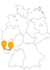 Auf der Reise mit dem Fernbus Kaiserslautern Trier geht es entweder zum Shoppen oder ab in die Römerzeit.