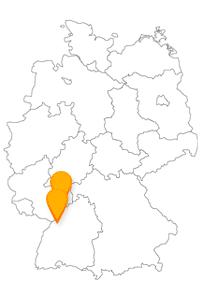 Der Fernbus Karlsruhe Mannheim bringt Sie zum neubarocken Wasserturm und zum Schlosspark Karlsruhe.