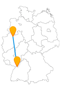 Ob Tiere sehen oder eine gemütliche Kaffeepause, nach der Fernbusfahrt zwischen Karlsruhe und Münster ist beides möglich.