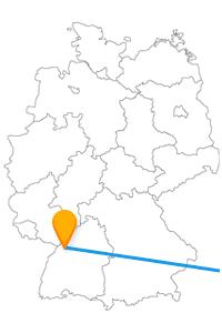 Die Reise mit dem Fernbus von Karlsruhe nach Wien bringt Sie vom Rhein an die Donau.