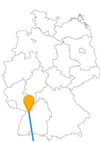 Per Fernbus zwischen Karlsruhe und Zürich lernen Sie interessante Kontraste kennen.