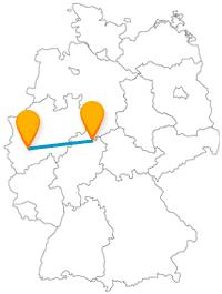 Die Reise mit dem Fernbus von Kassel nach Köln ist eine Geschichtsfahrt zwischen zwei der ältesten Städte Deutschlands.