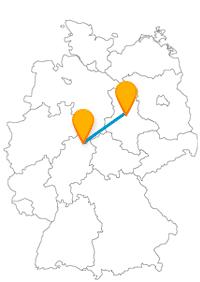 Erleben Sie mit der Reise im Fernbus Kassel Magdeburg tolle Aussichten.