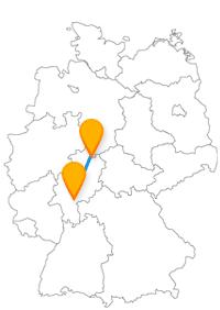 Mit dem Fernbus Kassel Offenbach am Main erleben Sie zum einen fast eine Doppel-Stadt und zum anderen mehr oder weniger nur einen Park.