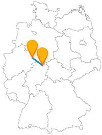 Ob Bistum oder UNESCO-Weltkulturerbe, die Reise mit dem Fernbus Kassel Paderborn ist historisch sehr interessant.