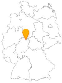 Nach der Fahrt im Fernbus Kassel können Sie auf einen gut organisierten Nahverkehr zurückgreifen.