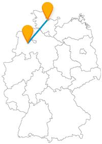 Geht es mit dem Fernbus zwischen Kiel und Oldenburg zum Segeln oder zum Lappan?