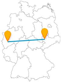 Die Reise mit dem Fernbus von Köln nach Leipzig ist nicht nur historisch ein Leckerbissen.