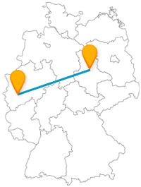 Auf der Reise mit dem Fernbus zwischen Köln und Magdeburg können Sie gleich zwei beeindruckende Dome besichtigen.