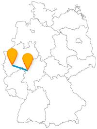 Gönnen Sie sich nach der Fernbusreise zwischen Köln und Marburg ein Kölsch und eine Schlossbesichtigung.