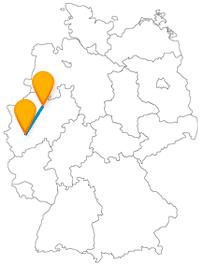 Mit dem Fernbus von Köln nach Münster ist eine Reise zwischen zwei historisch alten Städten.