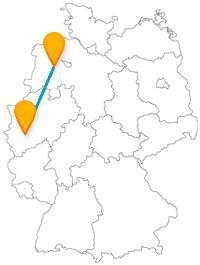 Ob Faschingsfans oder Fastnachtsmuffel, die Reise im Fernbus zwischen Köln und Oldenburg lohnt sich immer.