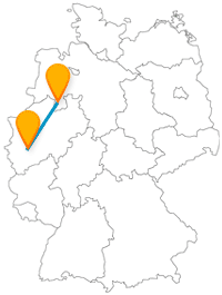 Ob Märkte und Karneval oder 300 Millionen Jahre Erdgeschichte, die Fernbusfahrt zwischen Köln und Osnabrück lohnt sich.