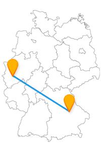 Gleich zwei beeindruckende gotische Dome können Sie nach der Fahrt im Fernbus Köln Regensburg besichtigen.