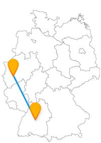 Die Städtereise im Fernbus Köln Tübingen ist reicht an historischen Sehenswürdigkeiten.