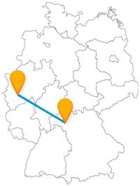 Fernbus Köln Würzburg
