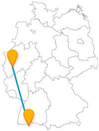 Fahren Sie mit dem Fernbus von Köln nach Zürich und Sie kommen vom weltweit dritthöchsten Kirchengebäude in die Stadt mit dem höchsten Lebensstandard.