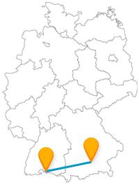 Wechseln Sie mit dem Fernbus Konstanz München zwischen zwei Bundesländern und lernen verschiedene Traditionen kennen.