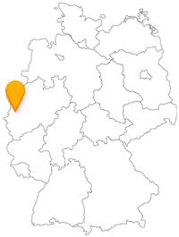 Der Fernbus in Krefeld