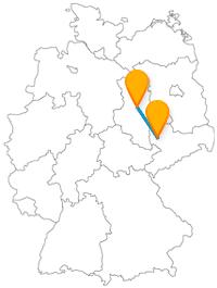 Die Reise mit dem Fernbus von Leipzig nach Magdeburg bringt Sie vom Ausgangspunkt einer friedlichen Revolution zum ehemals größten Dom in Deutschland.