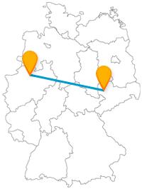 Mit dem Fernbus von Leipzig nach Münster erleben Sie Stadtgeschichtliches und Naturverbundenes.