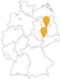 Entdecken Sie auf Ihrer Reise mit dem Fernbus zwischen Leipzig und Potsdam viel Natur auf großen Anlagen.