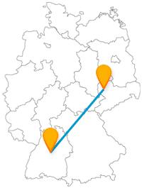 Machen Sie mit dem Fernbus von Leipzig nach Stuttgart eine Reise von Zoo zu Zoo.