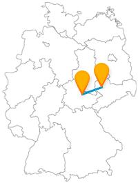 Geschichte, Kultur, Politik - die Fernbusreise von Leipzig nach Weimar ist vor allem historisch interessant.