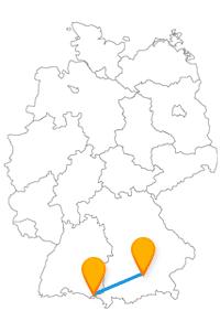 Mit dem Fernbus Lindau München können Sie das Bayerische Nationalmuseum und den Neuen Leuchtturm besuchen.