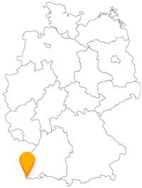 Der Fernbus in Lörrach