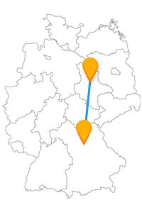 Die Busfahrt mit dem Fernbus Magdeburg - Nürnberg können Sie zu jeder Jahreszeit genießen.