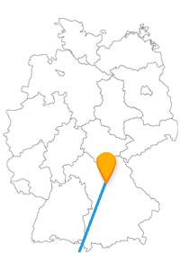 Die Reise mit dem Fernbus von Mailand nach Nürnberg ist mit einem Umstieg in wenigen Stunden zu bewältigen.