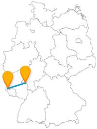 Nicht nur zur Faschingszeit oder für Historiker lohnt sich die Fernbusfahrt zwischen Mainz und Trier.
