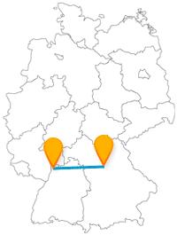 Entdecken Sie auf Ihrer Reise mit dem Fernbus zwischen Mannheim und Nürnberg viele Tiere und Pflanzen.